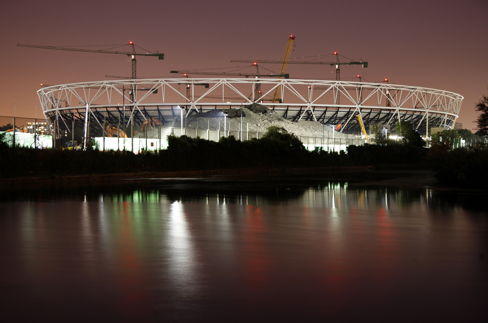 Preparations for London 2012 Olympics